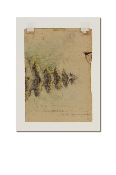 View 3. Thumbnail of Lot 1043. Willem Gerard Hofker 威廉·傑拉德·賀夫卡 | Ni Rindit met Singha (Ni Rindit with Singha) 妮・林蒂特與獅.