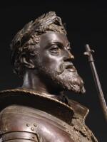 VINCENZO GEMITO (1852-1929) | HOLY ROMAN EMPEROR CHARLES V