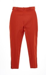 Red trousers, Hermès