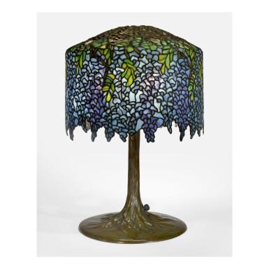 "TIFFANY STUDIOS | ""WISTERIA"" TABLE LAMP"
