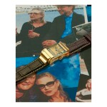 MELLERIO | A PINK GOLD RECTANGULAR WRISTWATCH, CIRCA 1975 | 粉紅金腕錶,年份約1975