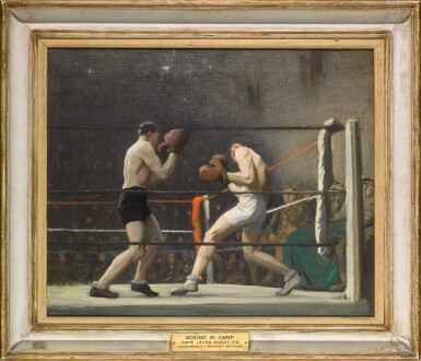 View 2. Thumbnail of Lot 10. Boxing in Camp (The Light Heavy-weights).