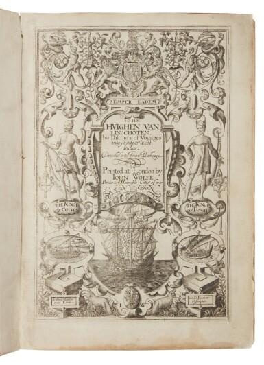 View 3. Thumbnail of Lot 12. Linschoten, Jan Huygen van   An English Linschoten in contemporary vellum.
