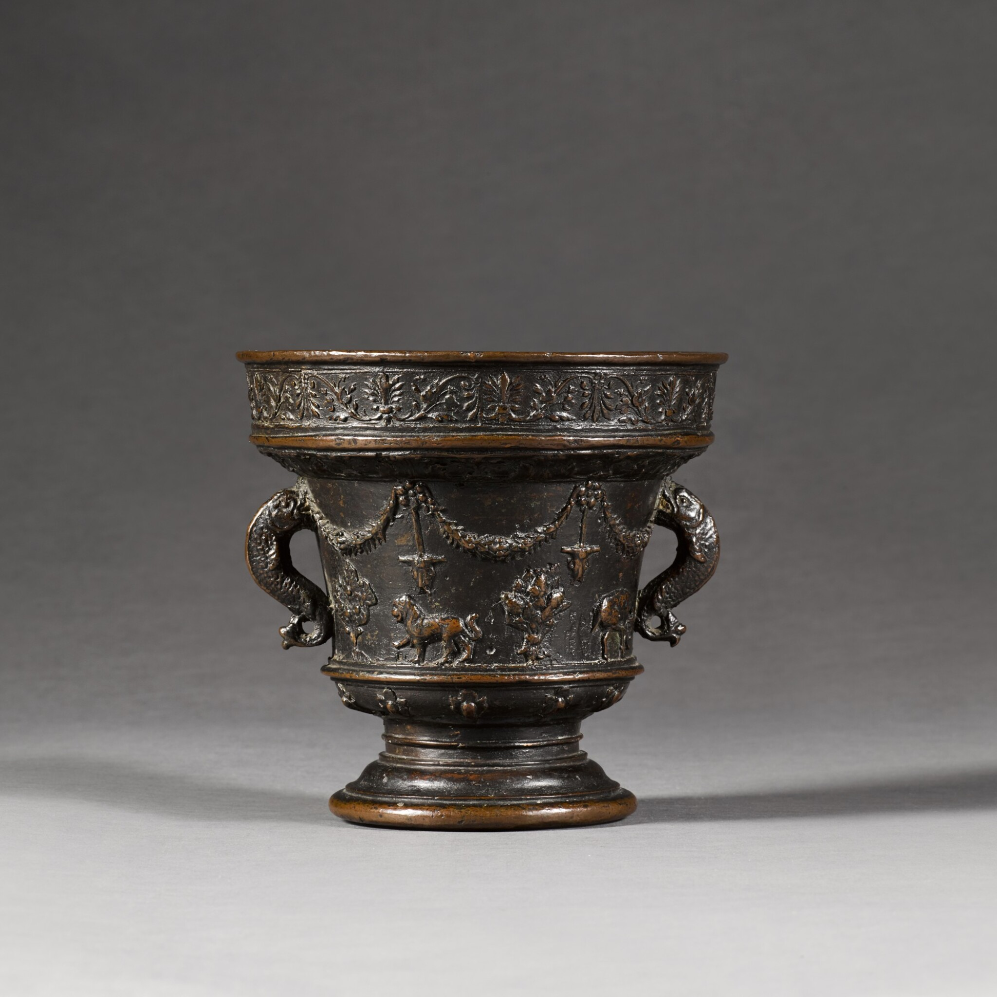 View 1 of Lot 134. ATTRIBUTED TO THE ALBERGHETTI FOUNDRY | MORTAR.