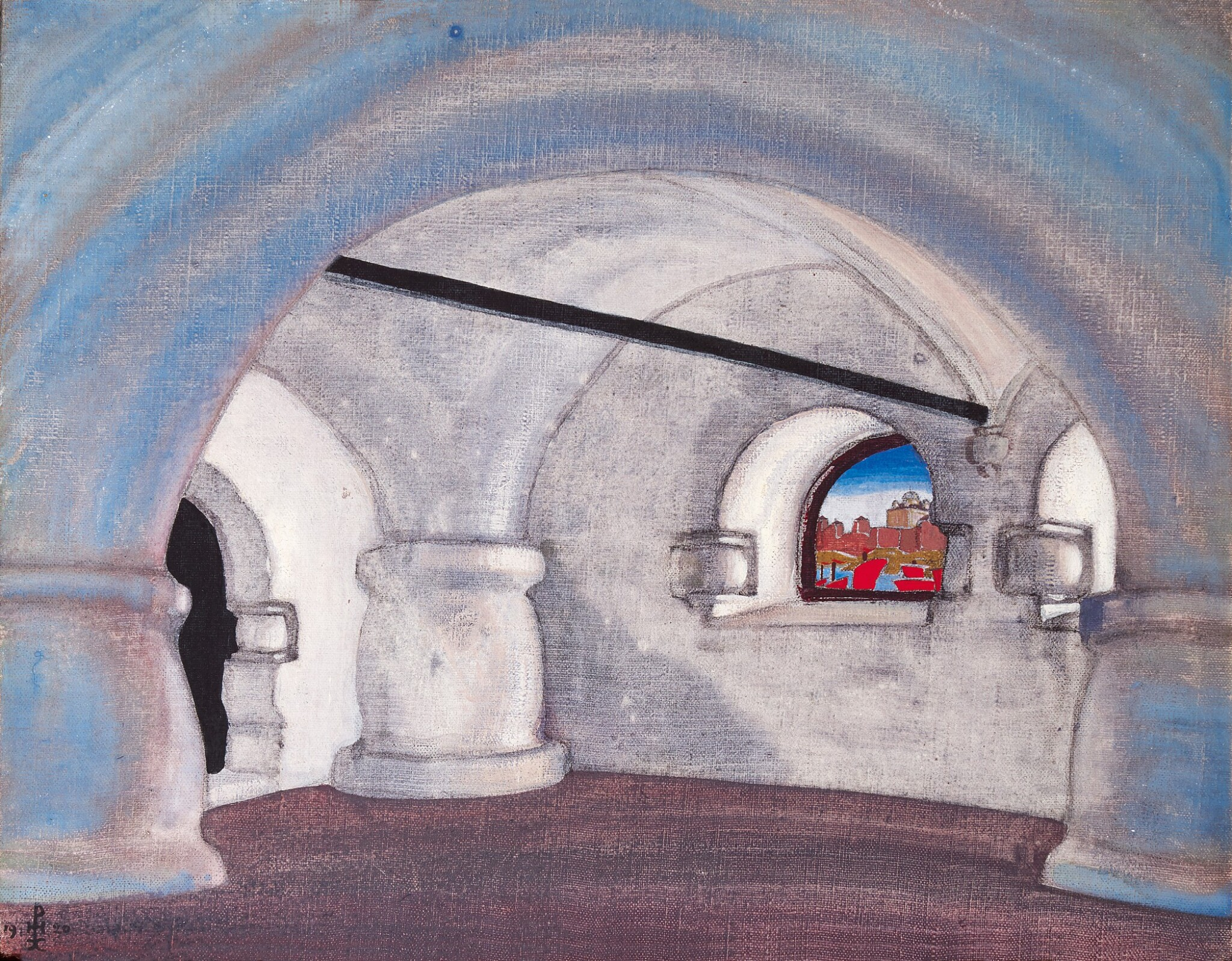 View full screen - View 1 of Lot 13. NIKOLAI KONSTANTINOVICH ROERICH   CHAMBER IN SADKO'S PALACE.