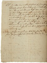 Herkimer, Nicholas. Letter signed 29 July 1777, to Jelles Fonde, one week before the Battle of Oriskany
