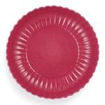 A RARE ROSE-PINK ENAMELLED CHRYSANTHEMUM DISH MARK AND PERIOD OF QIANLONG | 清乾隆 胭脂紅彩菊瓣盤 《大清乾隆年製》款