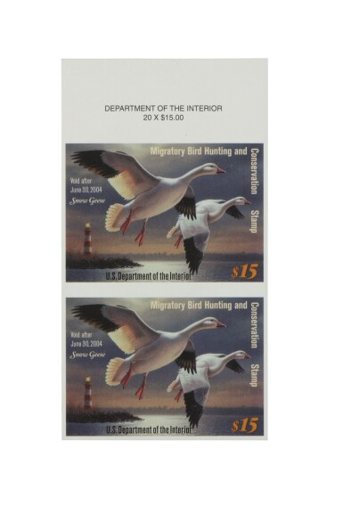 Hunting Permits 2003 $15.00 Multicolored Imperforate (RW70b)