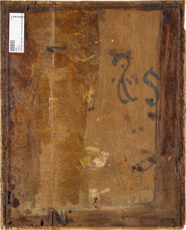 View 5. Thumbnail of Lot 26. ANTONIO VÁZQUEZ  | FOUR PANELS FROM AN ALTARPIECE WITH EPISODES FROM THE LIFE OF ST JOHN THE BAPTIST: THE VIRGIN AND CHILD WITH THE INFANT ST JOHN; THE PREACHING OF ST JOHN THE BAPTIST; THE VISITATION; SALOME WITH THE HEAD OF ST JOHN THE BAPTIST.