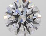 A 1.01 Carat Round Diamond, D Color, VVS1 Clarity