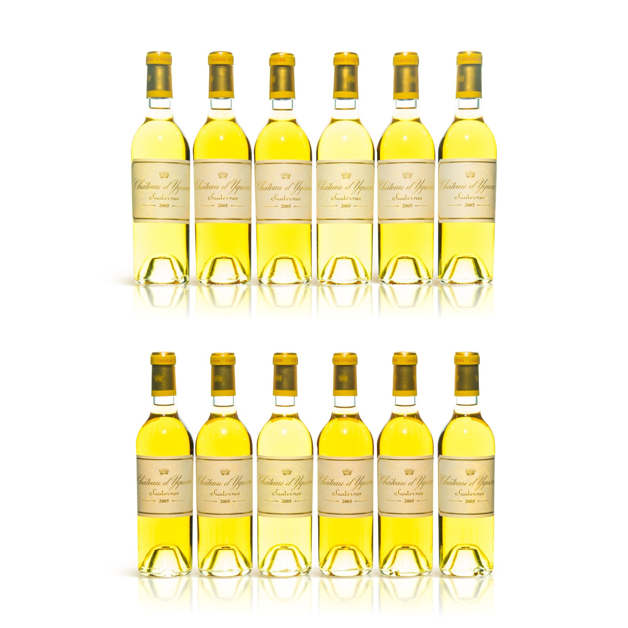 View full screen - View 1 of Lot 113. Château d'Yquem 2005  (12 HFBT).