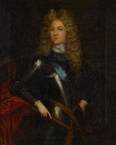View 2. Thumbnail of Lot 110. Portrait of a Gentleman, possibly John Churchill, First Duke of Marlborough (1650-1722).
