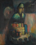 JIMOH AKOLO | SEATED FIGURE