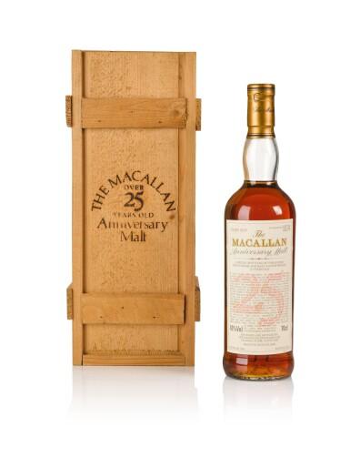 The Macallan 25 Year Old Anniversary Malt 43.0 abv 1968
