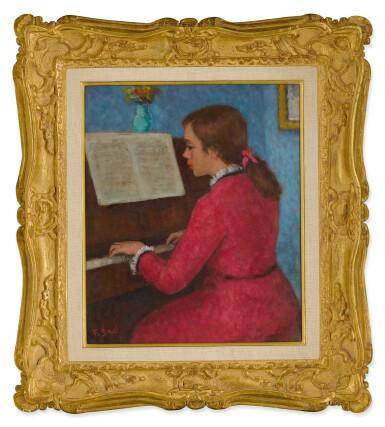 FRANÇOIS GALL   ELIZABETH-ANNE AU PIANO 'ÉTUDE DE CHOPIN'