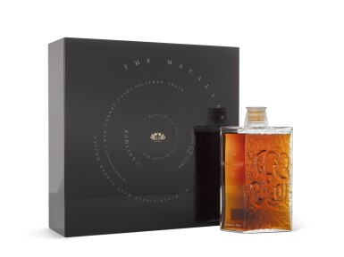 View 2. Thumbnail of Lot 2006. The Macallan In Lalique - Spiritual Home Decanter, 62 Years Old.