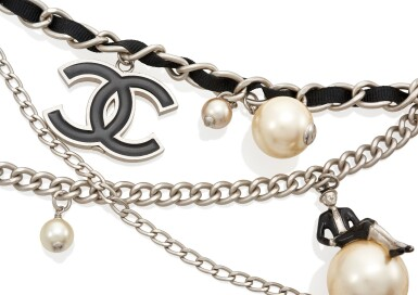 """""""COCO ON THE MOON"""" CHAIN BELT, CHANEL"""