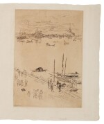JAMES ABBOTT MCNEILL WHISTLER | UPRIGHT VENICE (K. 205; G. 232)