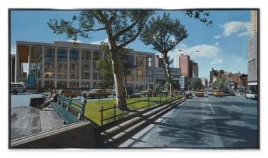 View 2. Thumbnail of Lot 26. RICHARD ESTES | BROADWAY AND 64TH, SPRING '84.