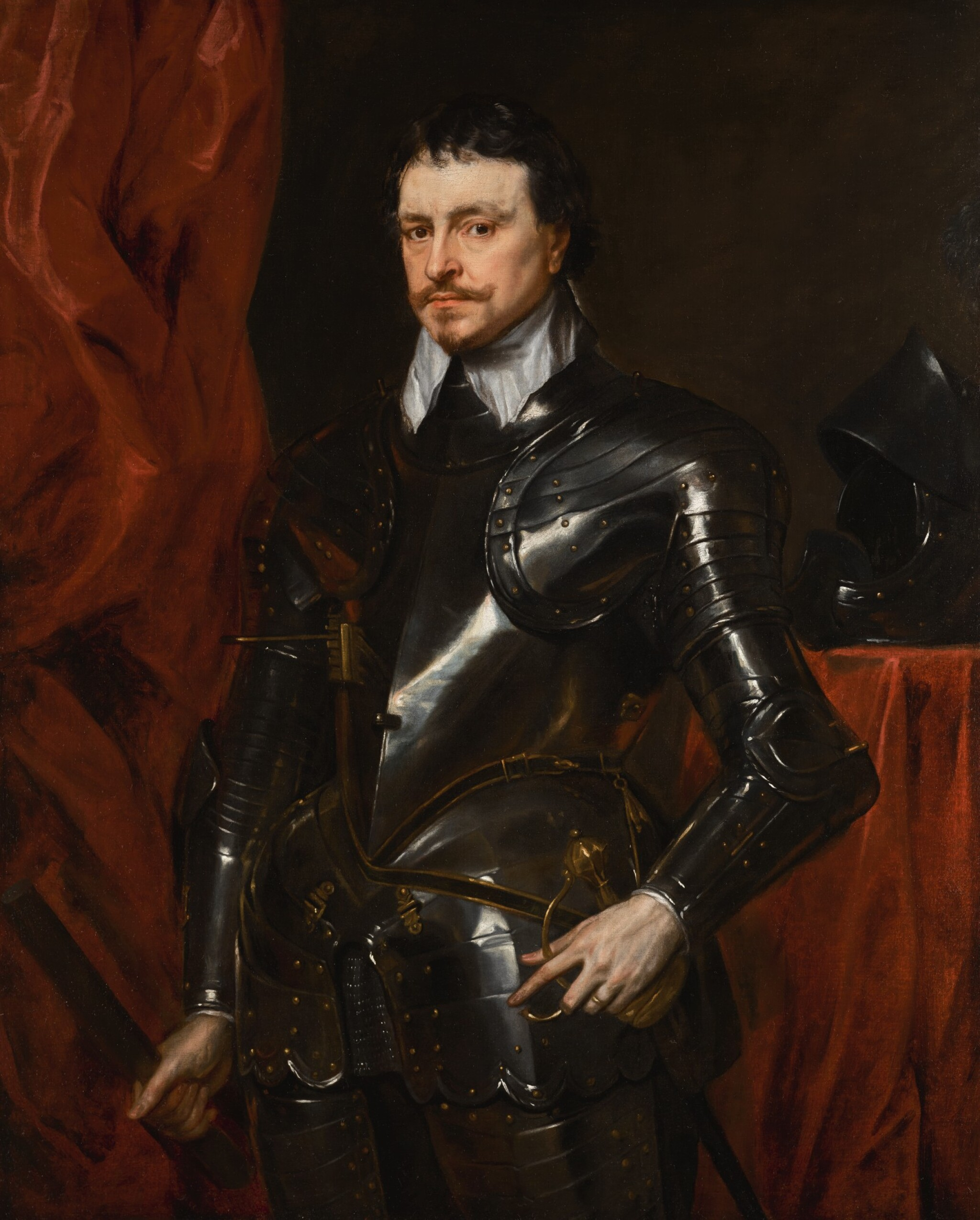 View full screen - View 1 of Lot 35. Portrait of Thomas Wentworth, 1st Earl of Strafford (1593-1641) .