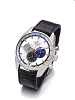 ZENITH | EL PRIMERO, A LIMITED EDITION STAINLESS STEEL AUTOMATIC CHRONOGRAPH WRISTWATCH WITH DATE CIRCA 2010