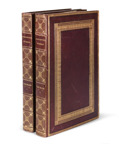 View 2. Thumbnail of Lot 126. HOGARTH, WILLIAM | THE WORKS. 1821, 2 VOLUMES.
