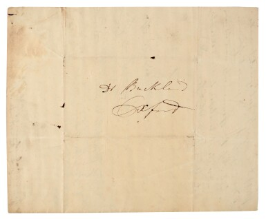 View 3. Thumbnail of Lot 1. Mary Anning | Autograph letter signed, to William Buckland, 24 November 1834.