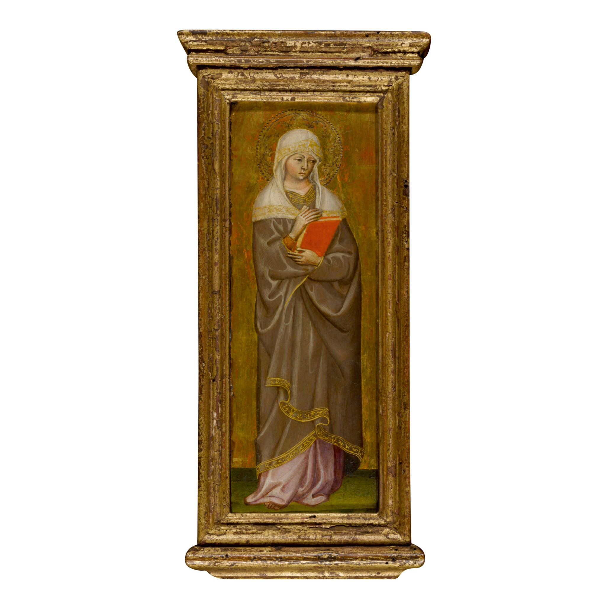 View full screen - View 1 of Lot 102. MICHELE DI MATTEO DA BOLOGNA | A FEMALE SAINT.