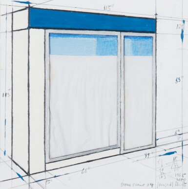 View 1. Thumbnail of Lot 266. Store Front #4 (Project).