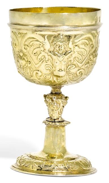AN AUSTRIAN SILVER-GILT CUP, PROBABLY GERHARD PERNFELS, VIENNA, CIRCA 1580