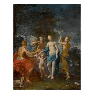 ERCOLE GRAZIANI THE YOUNGER | THE JUDGMENT OF PARIS