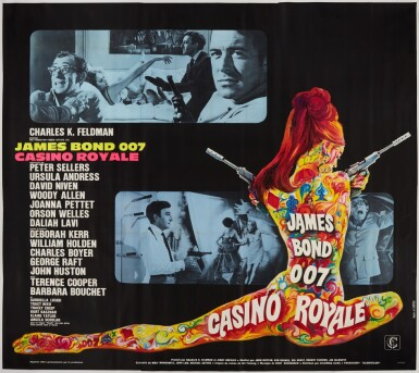 View 1. Thumbnail of Lot 80. CASINO ROYALE (1967) POSTER, FRENCH  .