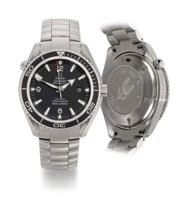 View 1. Thumbnail of Lot 11. OMEGA   SEAMASTER PLANET OCEAN XL, 22 SPECIAL AIR SERVICE, REFERENCE 22005200 MILITARY STAINLESS STEEL WRISTWATCH WITH DATE, HELIUM ESCAPE VALVE AND BRACELET, CIRCA 2011.