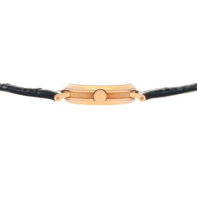 View 5. Thumbnail of Lot 444. Classique, Ref. 3350BR/12/286 Pink gold tourbillon wristwatch Made in 1996 | 寶璣 3350BR/12/286型號「Classique」粉紅金陀飛輪腕錶,1996年製.