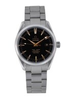 OMEGA | SEAMASTER AQUA TERRA, REF 25195100 LIMITED EDITION STAINLESS STEEL WRISTWATCH WITH DATE AND BRACELET CIRCA 2005