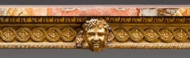 View 7. Thumbnail of Lot 174. An Italian Neoclassical carved giltwood console table, Rome, circa 1780.