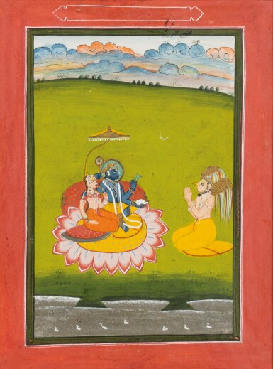 View 9. Thumbnail of Lot 39. RAJASTHAN AND NORTHERN INDIA, LATE 18TH CENTURY - EARLY 19TH CENTURY | SIX INDIAN MINIATURES .