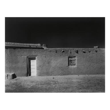 View 1. Thumbnail of Lot 141. ANSEL ADAMS | 'PENITENTE MORADA, COYOTE, N. M.'.