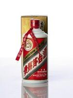 1996年產飛天牌貴州茅台酒 (鐵蓋)Kweichow Flying Fairy Moutai 1996 (1 BT50)