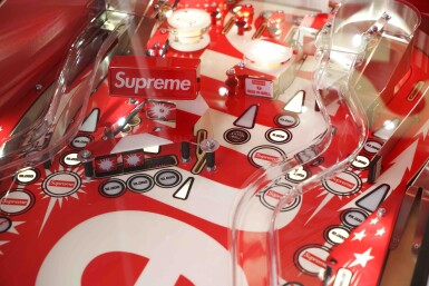 View 5. Thumbnail of Lot 1. SUPREME STERN PINBALL MACHINE.