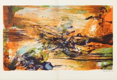 View 4. Thumbnail of Lot 181.  À la gloire de l'image.... Barcelone, 1977. 15 lithographies en couleurs. Edition originale..