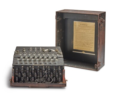 View 4. Thumbnail of Lot 55. A Fully Operational Enigma I in Original Condition.
