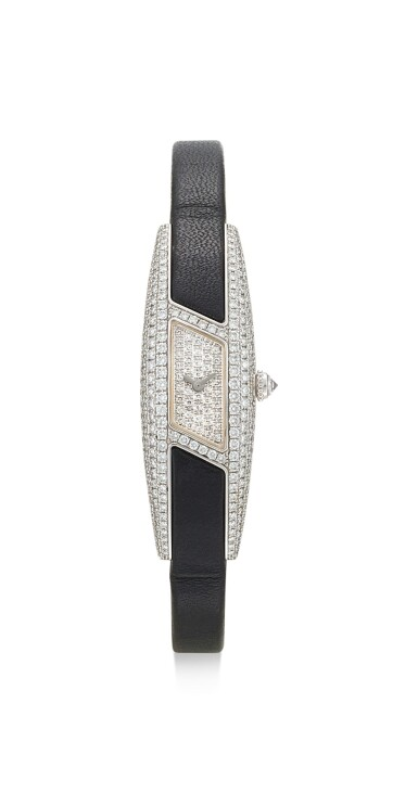 CARTIER | HIMALIA, REFERENCE 2571, A WHITE GOLD AND DIAMOND-SET WRISTWATCH, CIRCA 2003