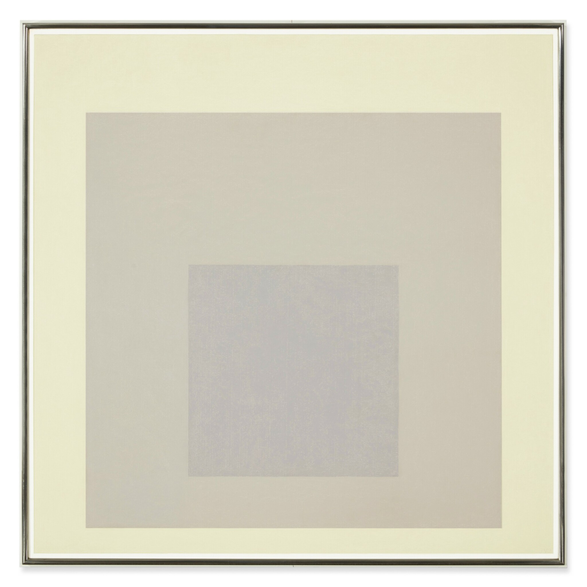 View full screen - View 1 of Lot 113. Study for Homage to the Square: Shaded Shade   《向方形致敬習作:暗影》.
