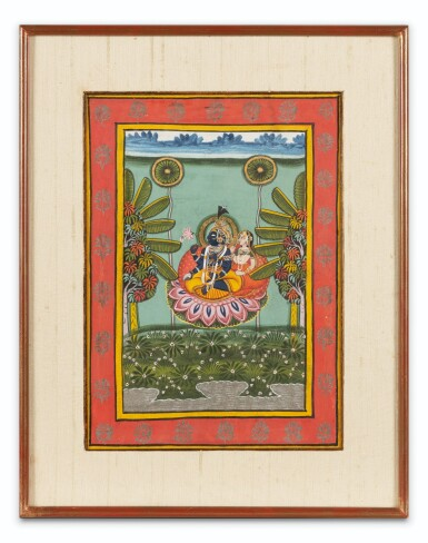 View 8. Thumbnail of Lot 39. RAJASTHAN AND NORTHERN INDIA, LATE 18TH CENTURY - EARLY 19TH CENTURY | SIX INDIAN MINIATURES .