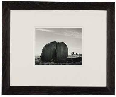 View 2. Thumbnail of Lot 76. 'Rocks, Sierra Foothills, California'.