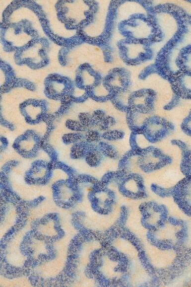 View 11. Thumbnail of Lot 129. Ten Pottery Tile Fragments, Mamluk, Ottoman, Timurid and European, 15th-18th centuries.