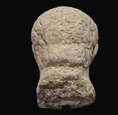 View 4. Thumbnail of Lot 41. A ROMAN MONUMENTAL MARBLE PORTRAIT HEAD OF NERVA, LATE 1ST CENTURY A.D..