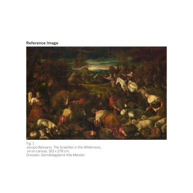 View 2. Thumbnail of Lot 8. JACOPO DA PONTE, CALLED JACOPO BASSANO | The Israelites in the Wilderness | 雅各布・達・彭德 - 或稱雅各布・巴薩諾 |《曠野中的以色列人》.