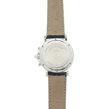 View 5. Thumbnail of Lot 13. REFERENCE 3315N MARINE A PLATINUM AUTOMATIC CHRONOGRAPH WRISTWATCH WITH DATE, CIRCA 2000.